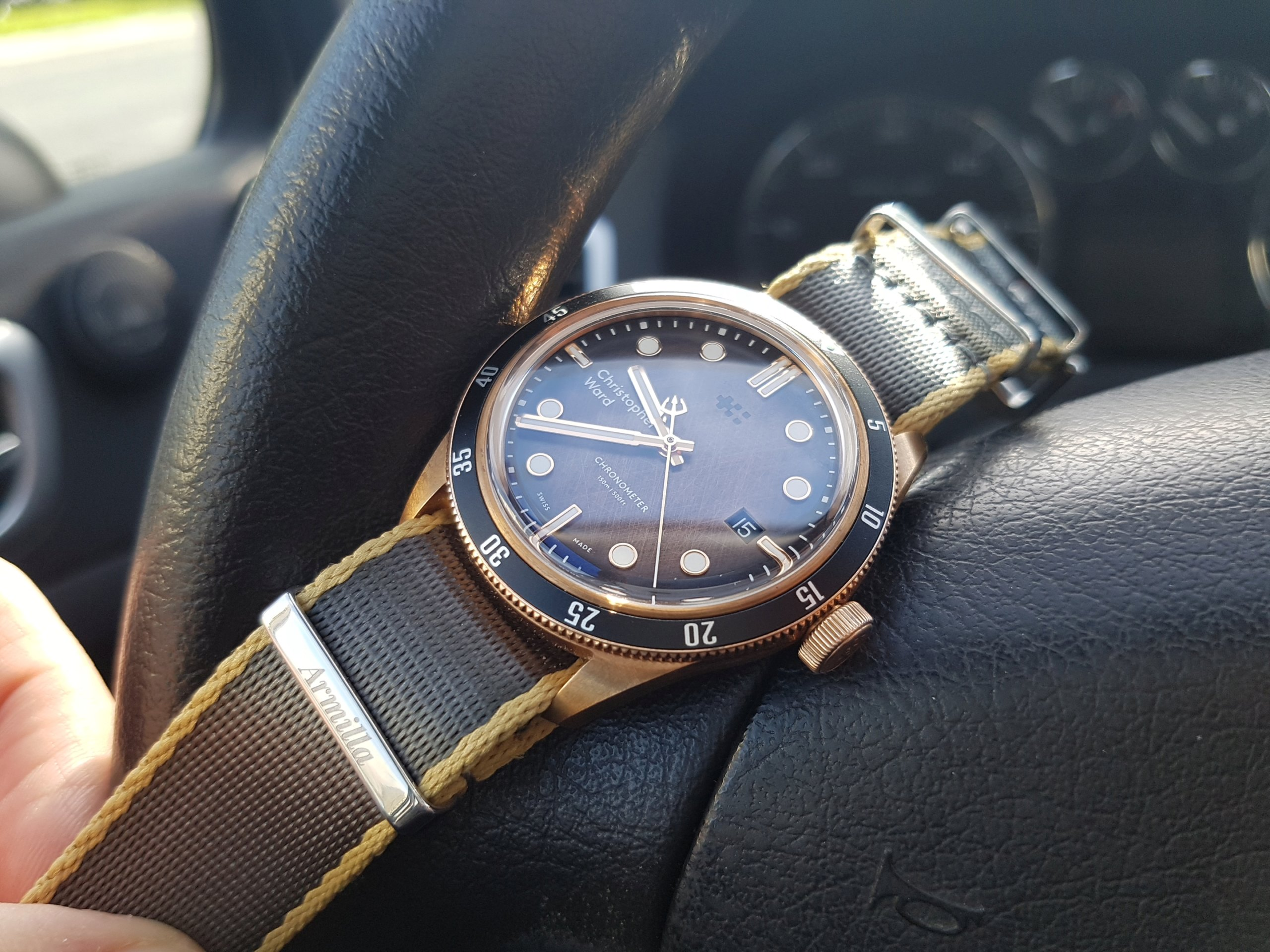 ward - [Revue] - Christopher Ward C65 Trident Bronze Ombre - Page 3 20200326