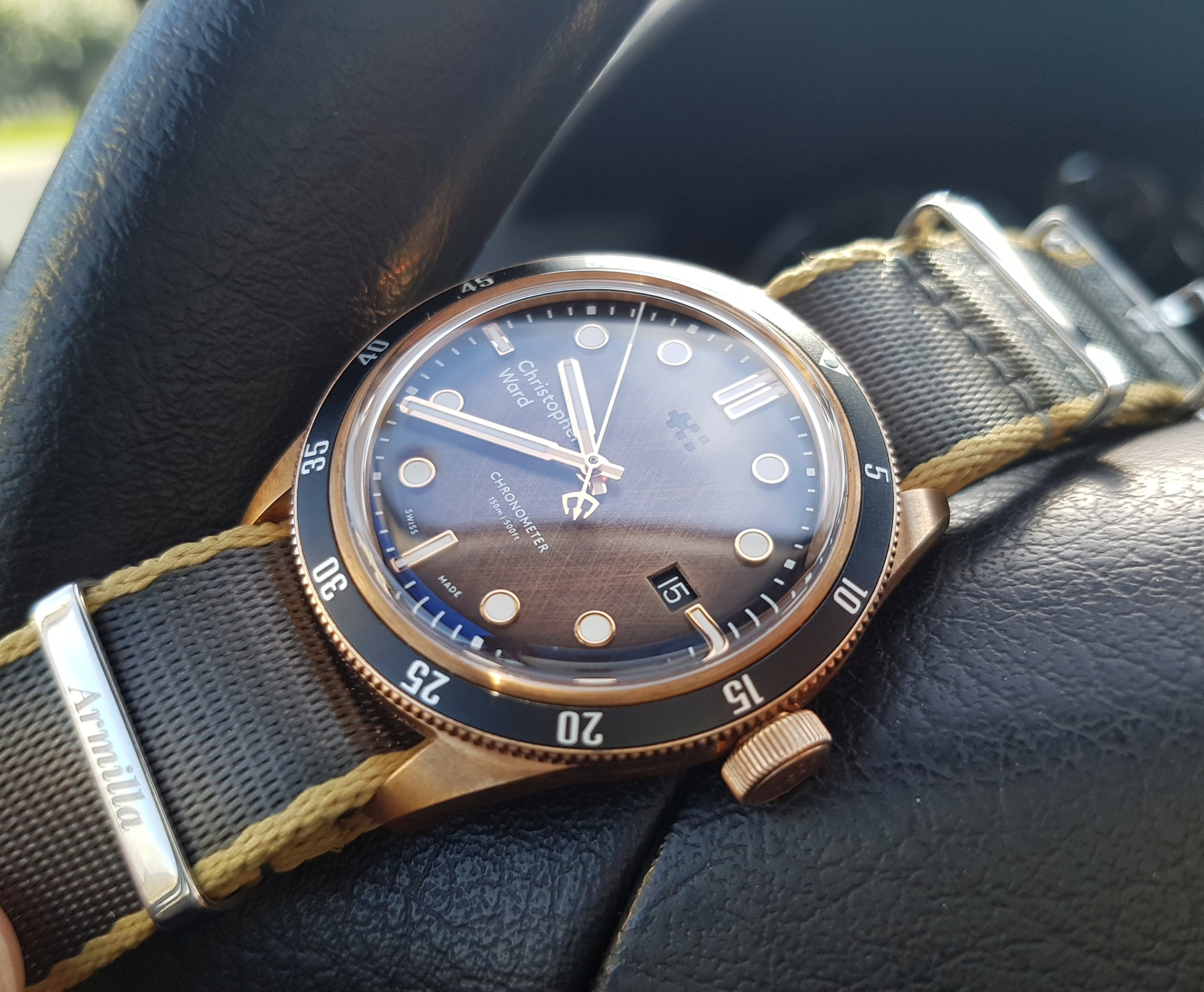 ward - [Revue] - Christopher Ward C65 Trident Bronze Ombre - Page 3 20200327