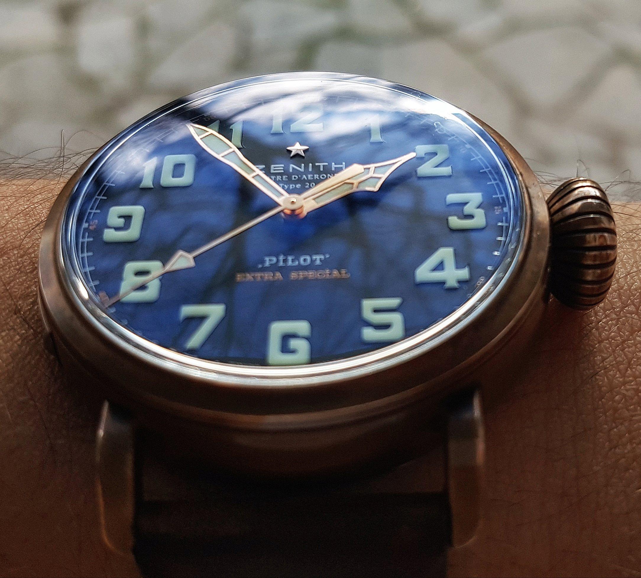 La montre de pilote par excellence - Pilot Type 20 Extra Special - Page 3 Img_2069