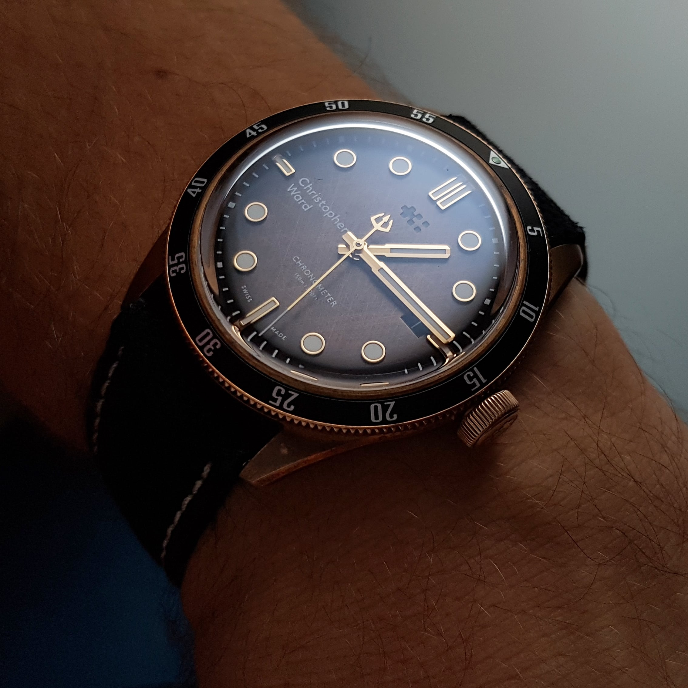 [Revue] - Christopher Ward C65 Trident Bronze Ombre - Page 3 Img_2156