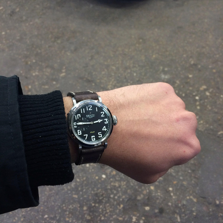 La montre de pilote par excellence - Pilot Type 20 Extra Special - Page 6 Img_5011