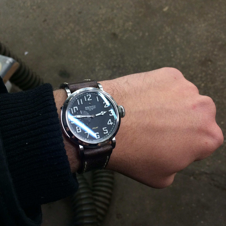 La montre de pilote par excellence - Pilot Type 20 Extra Special - Page 6 Img_5110