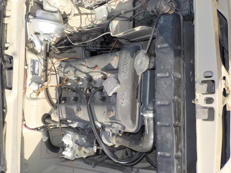 Remontage giulia 1300 TI restauration totale Dscn1014