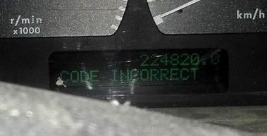 démarrer le P38 au relai code clé BM et BVA 20200723