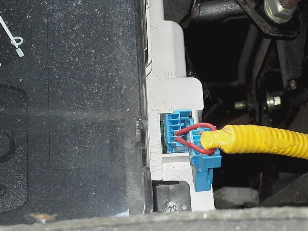 Anomalie Capteur ABS montage particulier et anomalie SRS 20210310