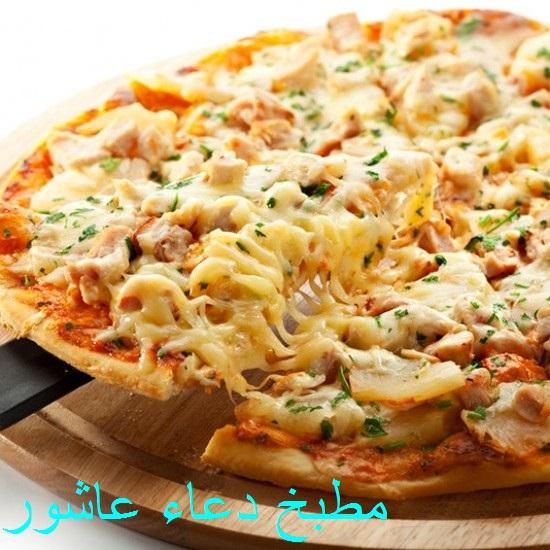 بيتزا بالدجاج بصلصة البوفالو Ooo_ac11
