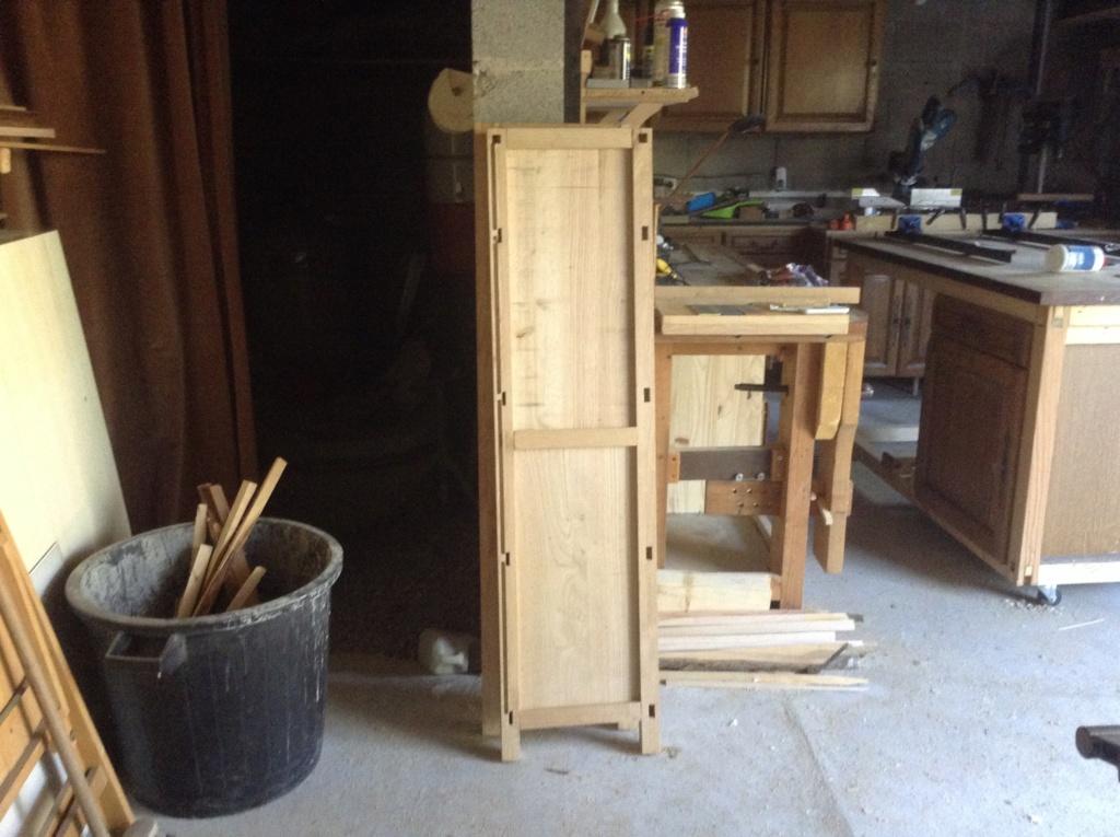 Pas à pas meuble à casiers en châtaignier  Image165