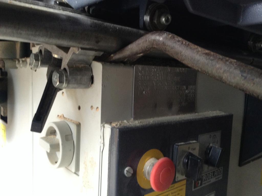 Réglage chariot de tronçonnage Robland X310 Image27