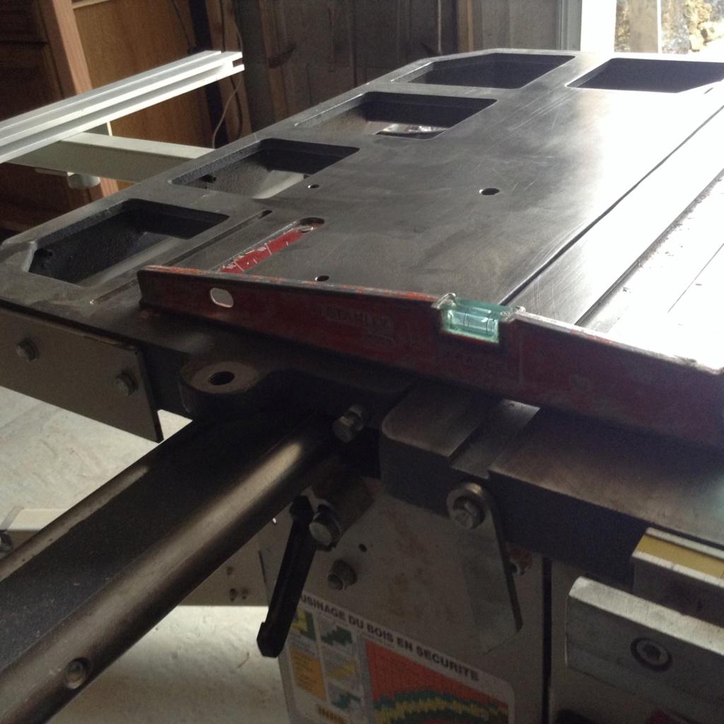 Réglage chariot de tronçonnage Robland X310 Image29