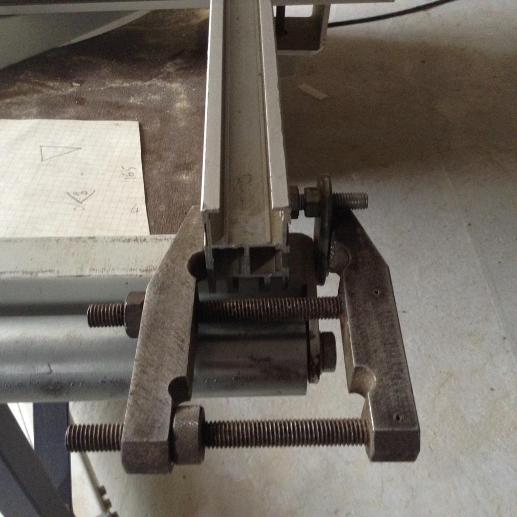Réglage chariot de tronçonnage Robland X310 Image36
