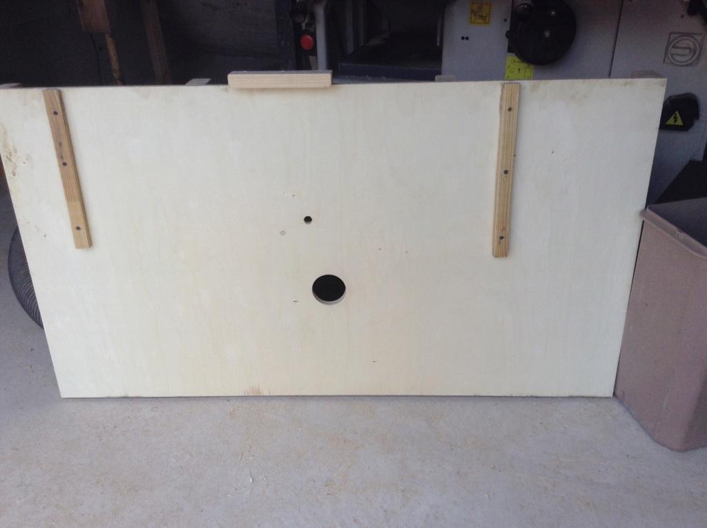 Essai d'utilisation de la toupie du combiné en defonceuse sous table Image41