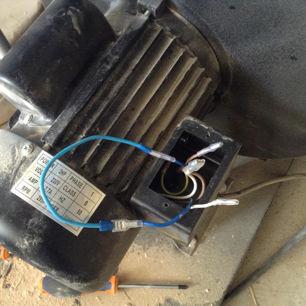Nouveau branchement de mon aspirateur pour économiser mon dos. Image73