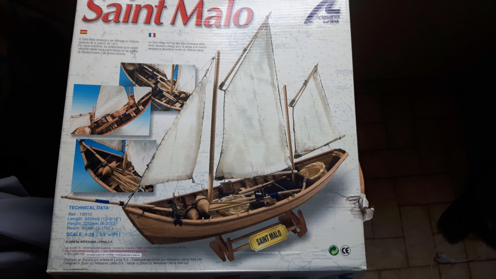 Doris terre-neuvien Saint Malo (Artesania Latina 1/20°) par Davou21 20200710