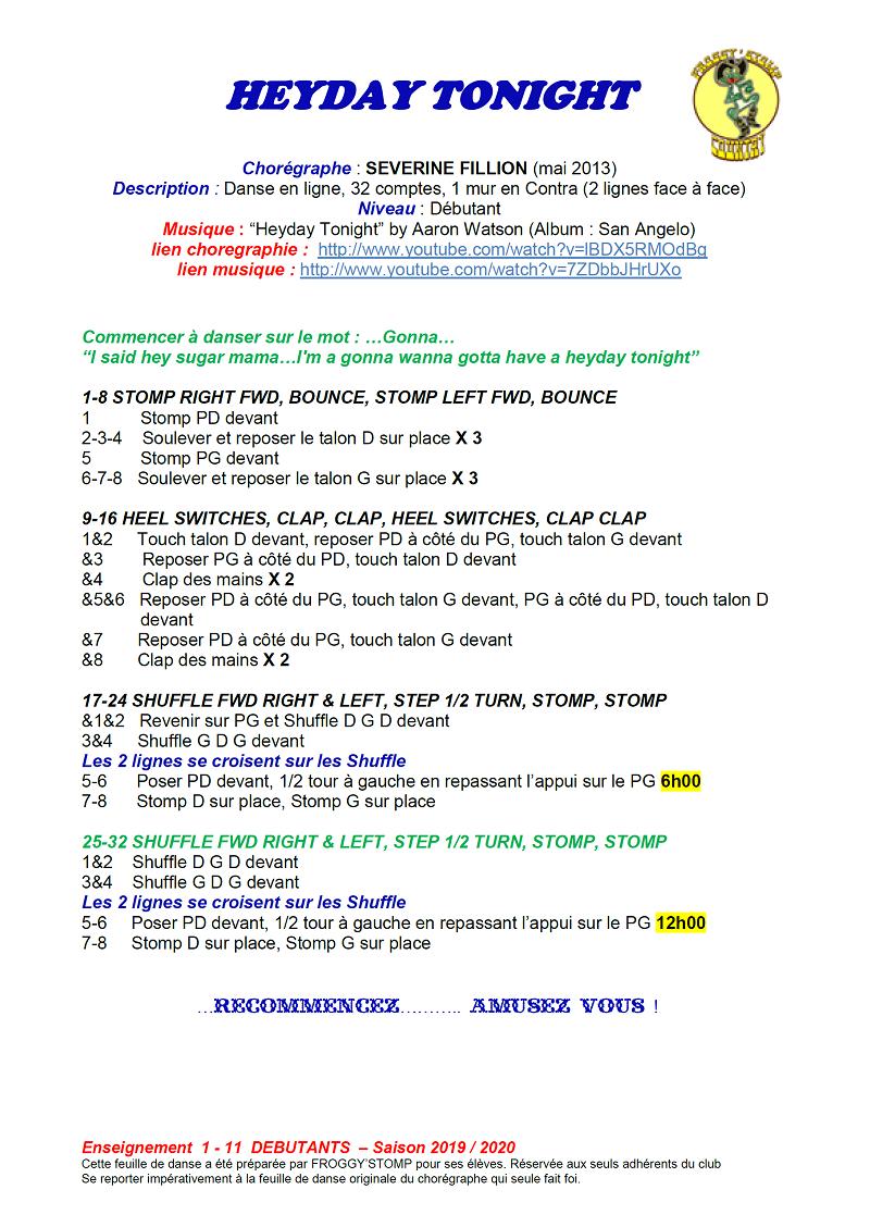 CHOREGRAPHIES DEBUTANTS 1_11_h12
