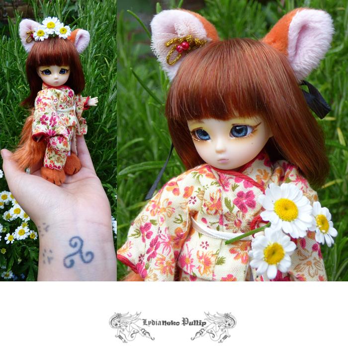❀ Kitsune ❀ BJD AI Tsubaki ❀ et Lavande ❀ Pukipuki Cupid ❀  Kitsun16