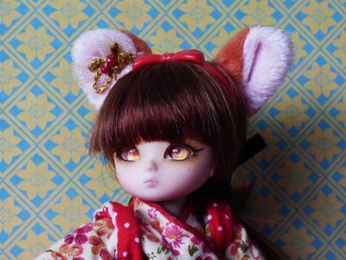 ❀ Kitsune ❀ BJD AI Tsubaki ❀ et Lavande ❀ Pukipuki Cupid ❀  P1360310