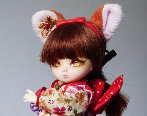 ❀ Kitsune ❀ BJD AI Tsubaki ❀ et Lavande ❀ Pukipuki Cupid ❀  P1360312