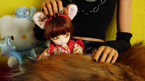 ❀ Kitsune ❀ BJD AI Tsubaki ❀ et Lavande ❀ Pukipuki Cupid ❀  P1370910