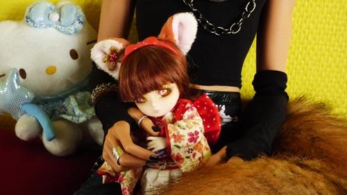 ❀ Kitsune ❀ BJD AI Tsubaki ❀ et Lavande ❀ Pukipuki Cupid ❀  P1370911
