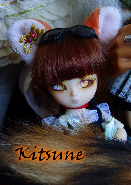 ❀ Kitsune ❀ BJD AI Tsubaki ❀ et Lavande ❀ Pukipuki Cupid ❀  P1420312