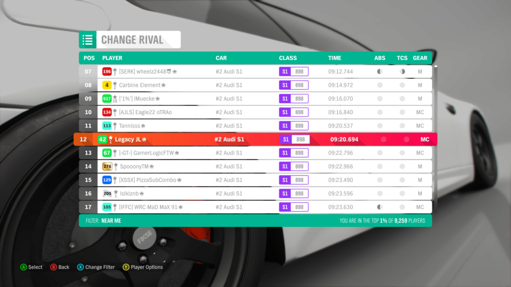 FH4 Time Attack | Dirt Racing Rivals - The Gauntlet (#2 Audi S1) 2-17-210