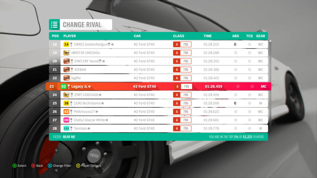 FH4 Time Attack | Road Racing Rivals - Horizon Festival Sprint (#2 Ford GT40) 2-24-210