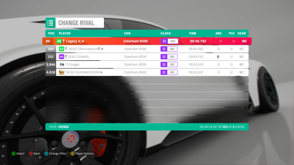 FH4 Time Attack | Road Racing Rivals - Ambleside Village Circuit (Caterham R500)  3-3-2010
