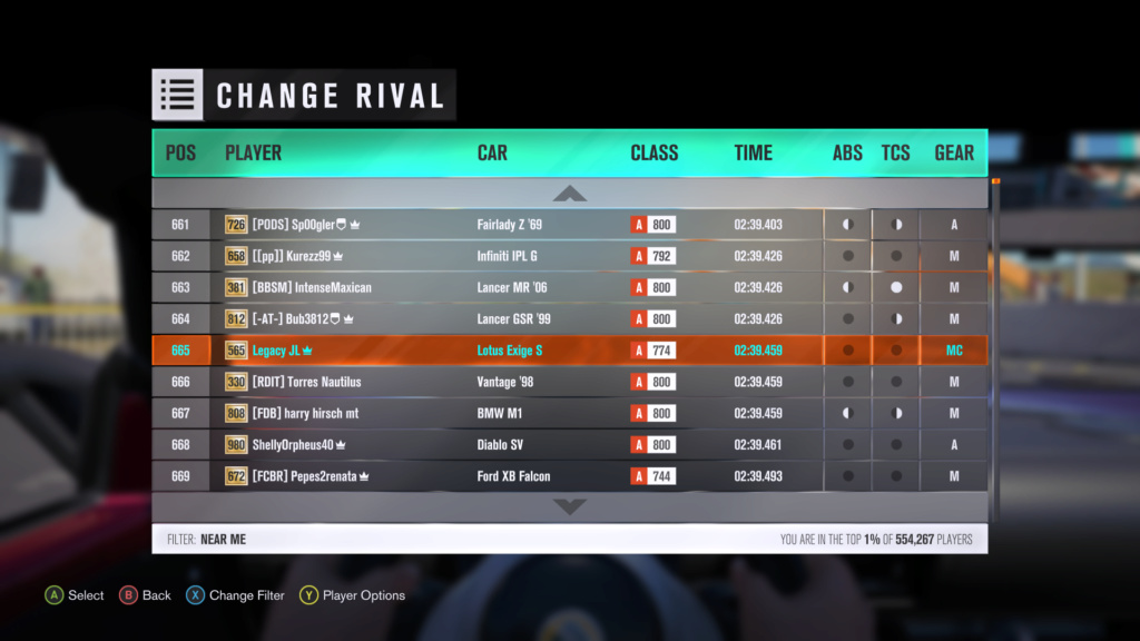 FH3 Time Attack | Stock Car Challenge #40 (2012 Lotus Exige S) 7-21-210