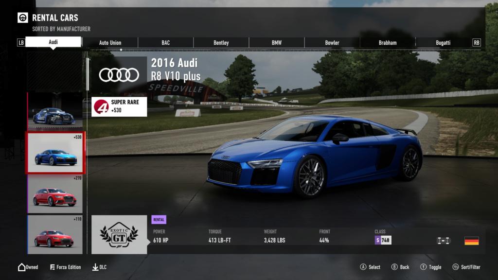 FM7 Time Attack | Stock Car Challenge #24 (2016 Audi R8 V10 plus) 7-21-212
