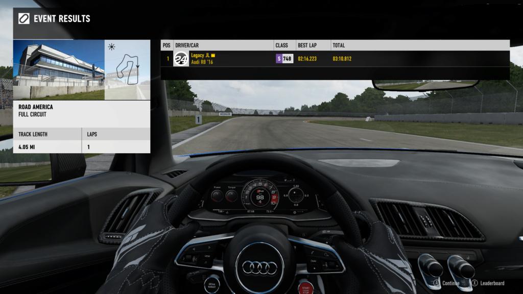 FM7 Time Attack | Stock Car Challenge #24 (2016 Audi R8 V10 plus) 7-21-213
