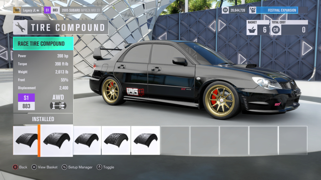 FH3 Time Attack | City Tour Sprint - 400HP (FWD/RWD/AWD) 7-28-211