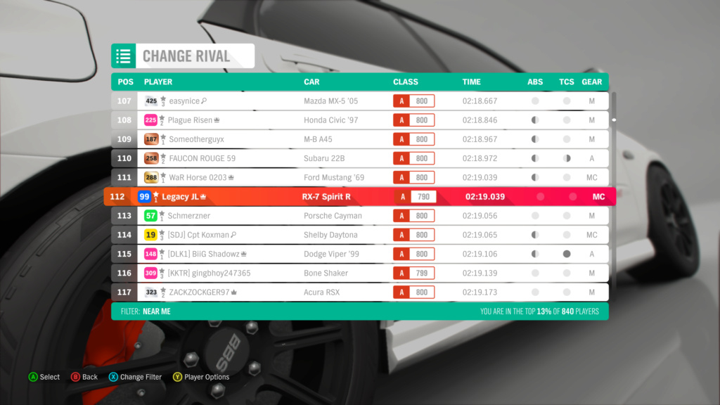 FH4 Time Attack | Lake District Sprint - 300hp(FWD/RWD) 8-25-210