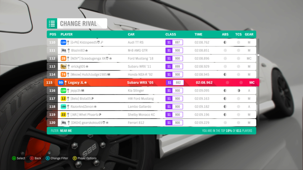 FH4 Time Attack | Greendale Super Sprint - 600hp (AWD/RWD/FWD) 8-25-213