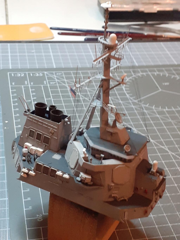 « Rapide et Craint » - Destroyer Lance Missiles USS Arleigh Burke (Trumpeter - 1/350) 20192450