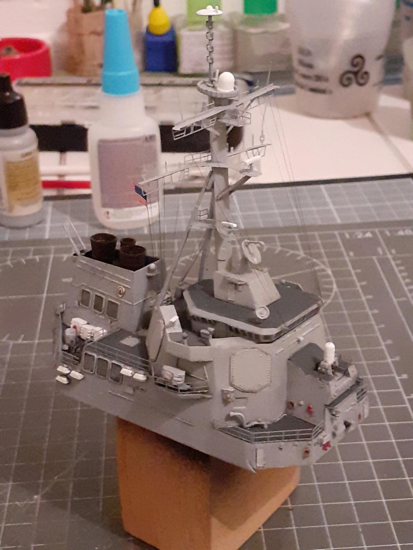 « Rapide et Craint » - Destroyer Lance Missiles USS Arleigh Burke (Trumpeter - 1/350) 20192593
