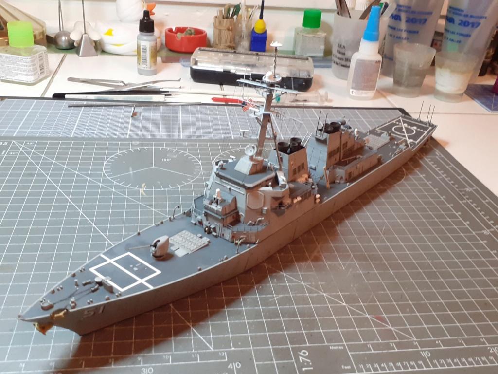 « Rapide et Craint » - Destroyer Lance Missiles USS Arleigh Burke (Trumpeter - 1/350) 20192600