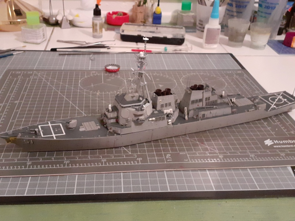 « Rapide et Craint » - Destroyer Lance Missiles USS Arleigh Burke (Trumpeter - 1/350) 20192601