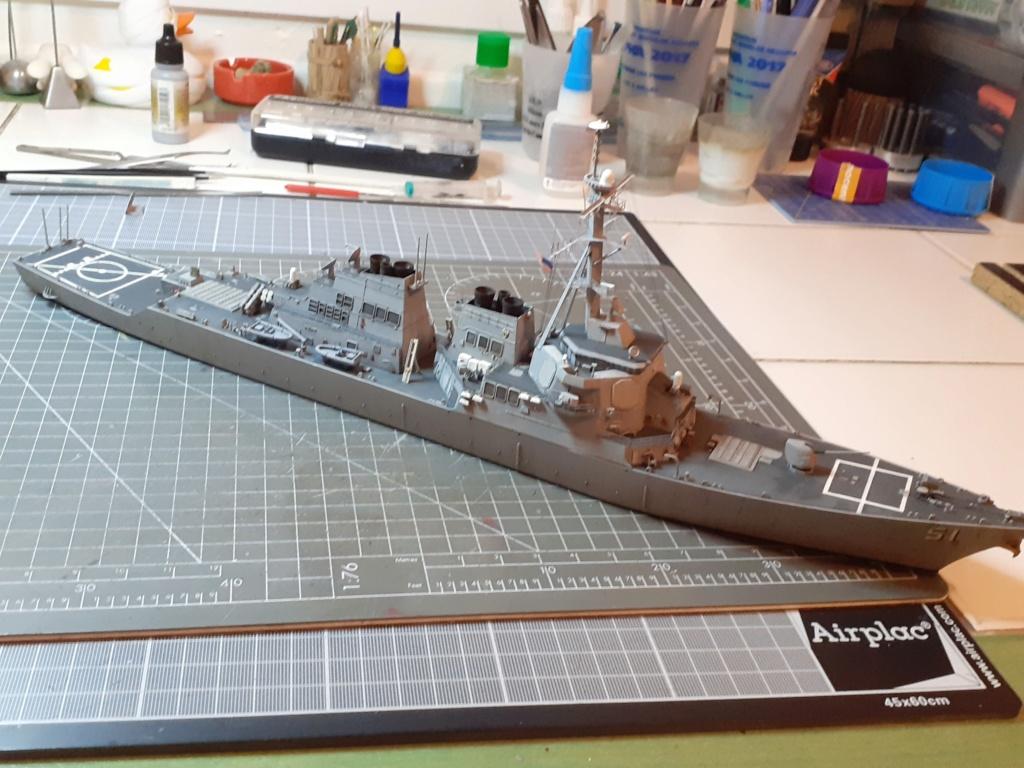 « Rapide et Craint » - Destroyer Lance Missiles USS Arleigh Burke (Trumpeter - 1/350) 20192608