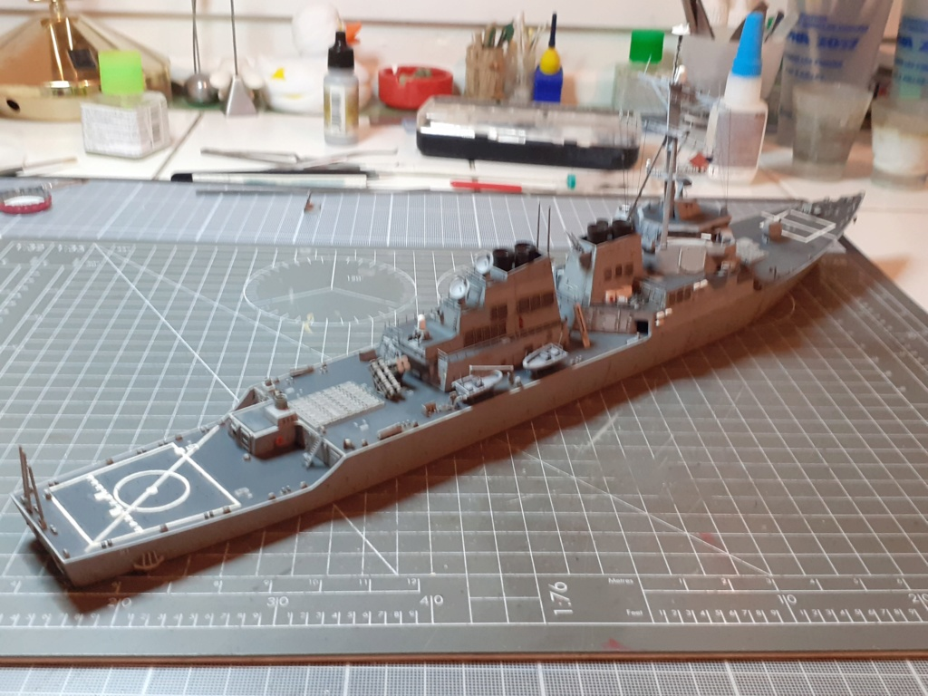 « Rapide et Craint » - Destroyer Lance Missiles USS Arleigh Burke (Trumpeter - 1/350) 20192609