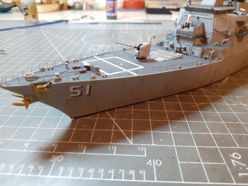 « Rapide et Craint » - Destroyer Lance Missiles USS Arleigh Burke (Trumpeter - 1/350) 20192685
