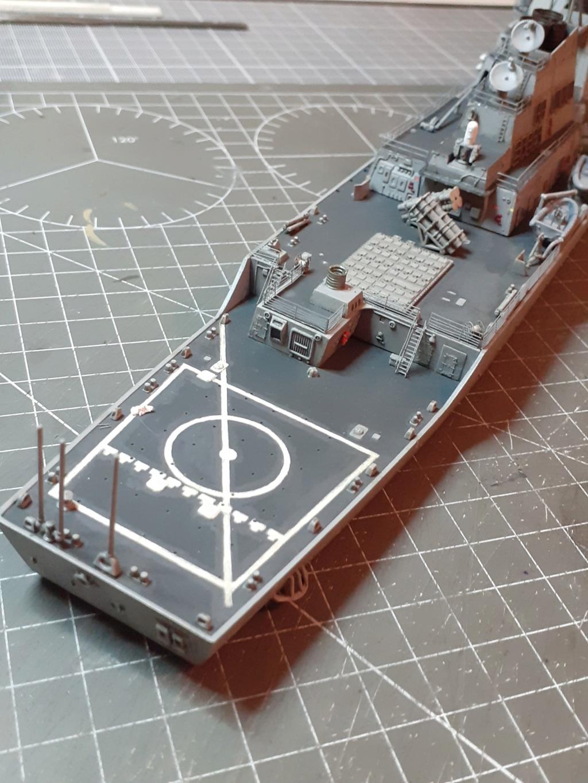 « Rapide et Craint » - Destroyer Lance Missiles USS Arleigh Burke (Trumpeter - 1/350) 20192692