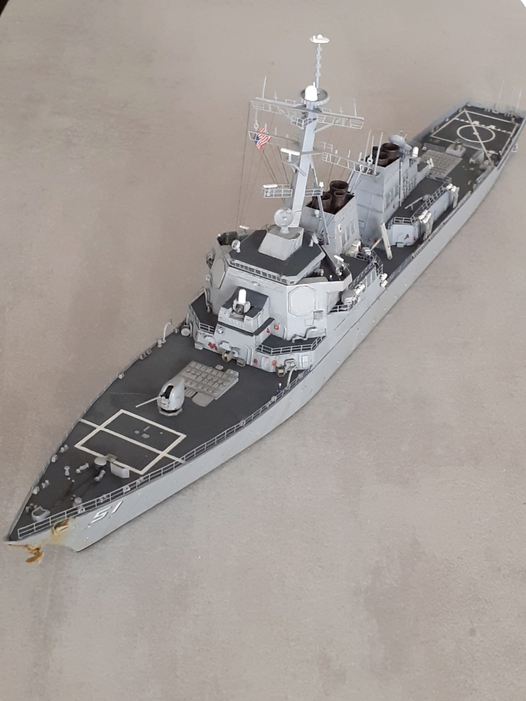 « Rapide et Craint » - Destroyer Lance Missiles USS Arleigh Burke (Trumpeter - 1/350) - Page 2 20200275