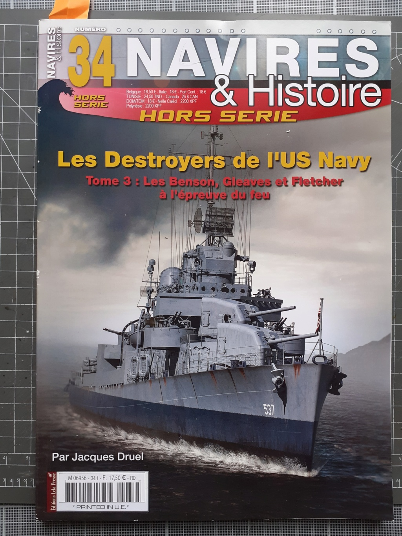 Premier rôle à Guadalcanal - USS Fletcher DD-445 (Tamiya 1/700) 20201417