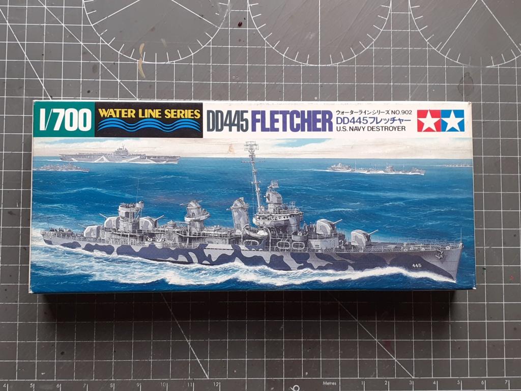 Premier rôle à Guadalcanal - USS Fletcher DD-445 (Tamiya 1/700) 20201418
