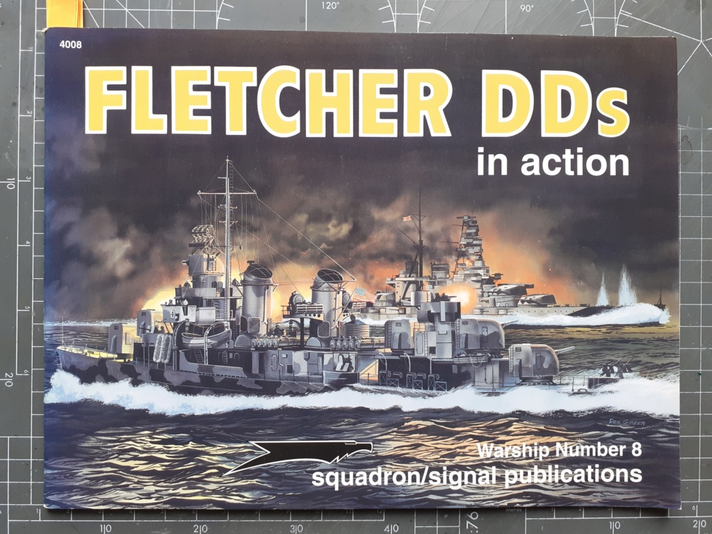 Premier rôle à Guadalcanal - USS Fletcher DD-445 (Tamiya 1/700) 20201419