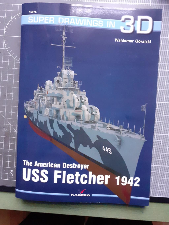 Premier rôle à Guadalcanal - USS Fletcher DD-445 (Tamiya 1/700) 20201503
