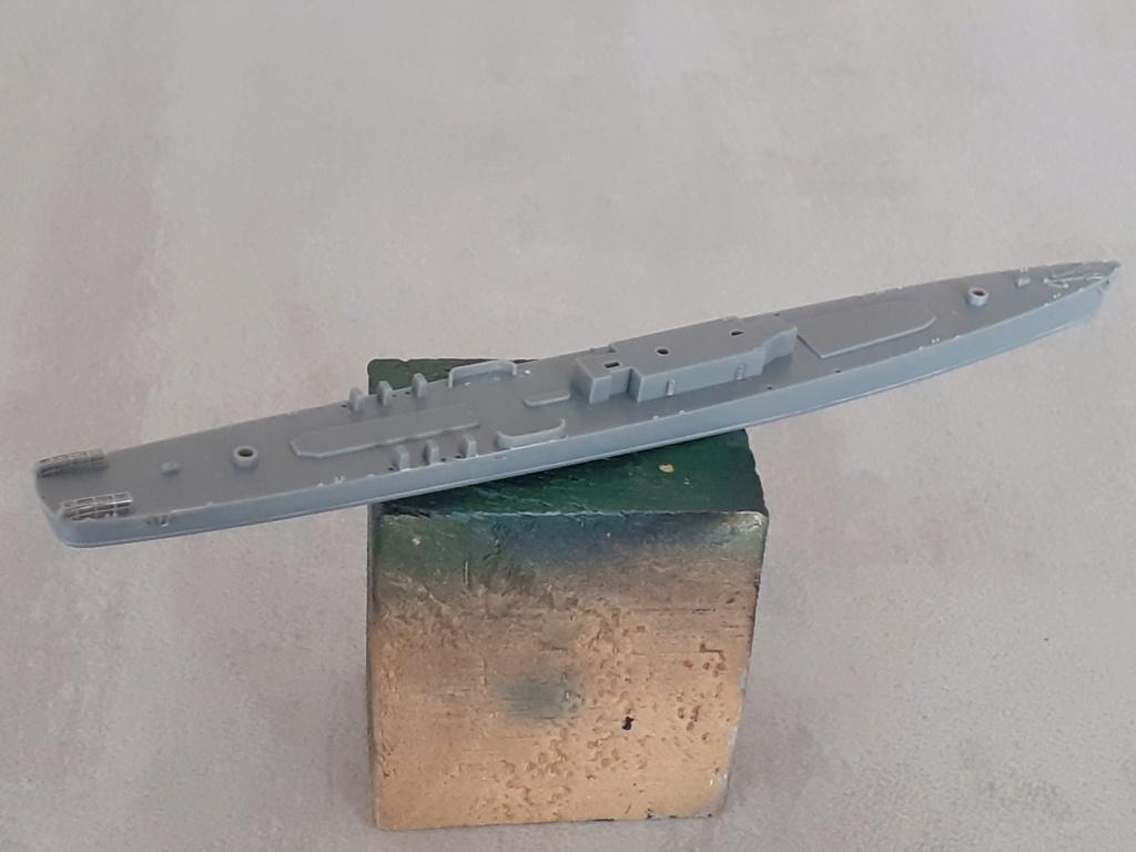 Premier rôle à Guadalcanal - USS Fletcher DD-445 (Tamiya 1/700) 20201521