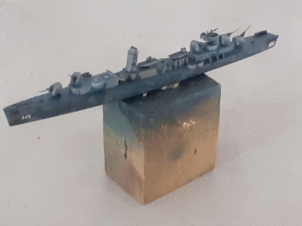 Premier rôle à Guadalcanal - USS Fletcher DD-445 (Tamiya 1/700) - Page 4 20202582