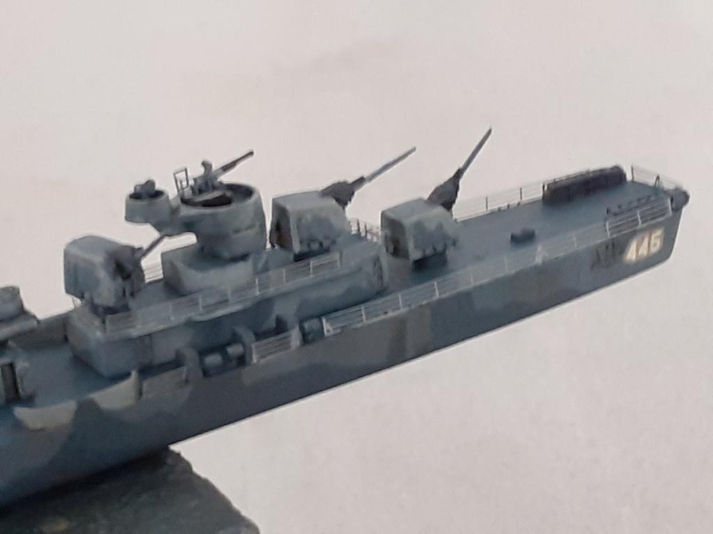 Premier rôle à Guadalcanal - USS Fletcher DD-445 (Tamiya 1/700) - Page 4 20202692