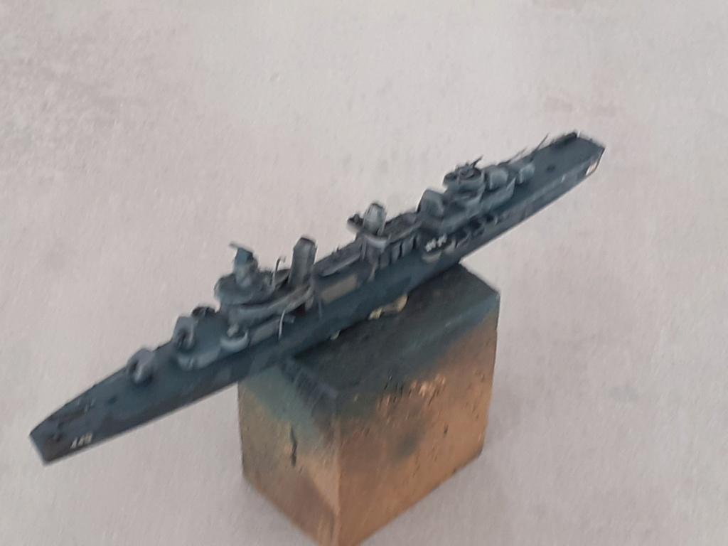 Premier rôle à Guadalcanal - USS Fletcher DD-445 (Tamiya 1/700) - Page 4 20202758